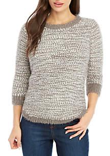 New Directions® Petite Popcorn Sweater