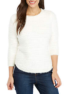 New Directions® Petite Popcorn Sweater