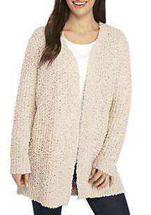 Petite Popcorn Chenille Sweater