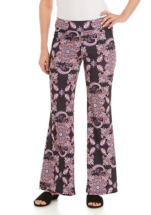 New Directions® Plus Size Print Palazzo Pants