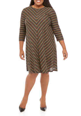 New Directions Plus Size Dresses   belk