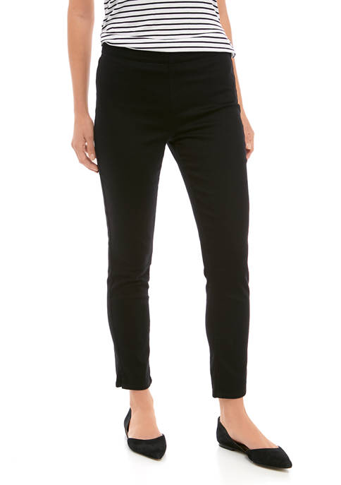 NYDJ Womens Pull On Skinny Ankle Jeans with