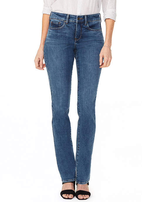 Womens Marilyn Straight Jeans