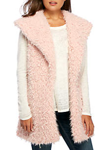 Faux Fur Curly Vest