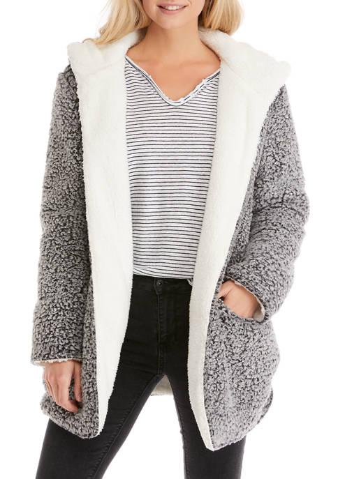 Me Jane® Open Front Woobie Cardigan
