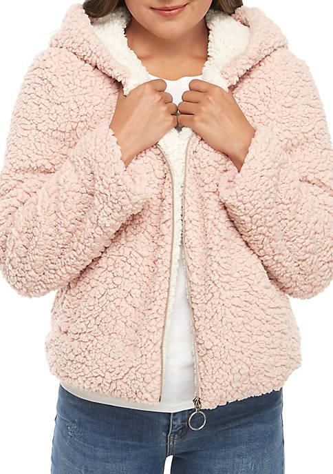 Me Jane® Zip Front O Ring Woobie Jacket