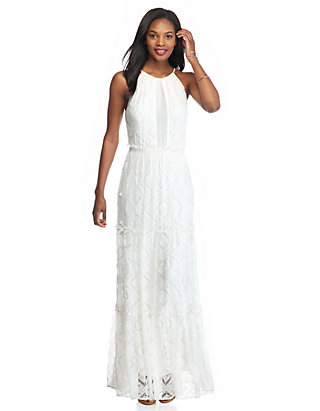 Willow And Clay Lace Maxi Dress Belk