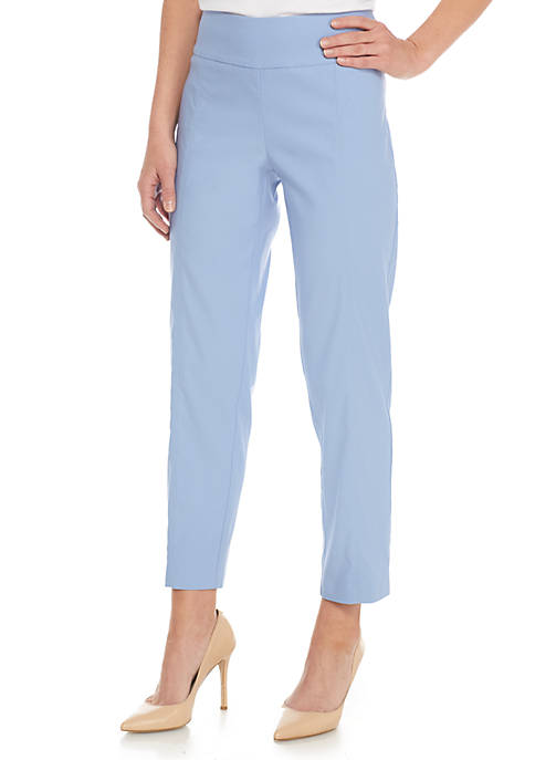 New Directions® Pull-On Ankle Mill Pants