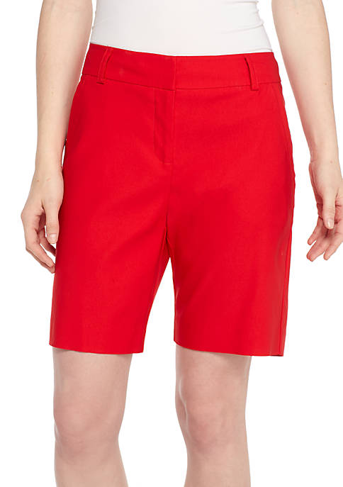 New Directions® Mill Bermuda Shorts