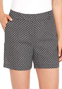 Flat Hook Linen Shorts