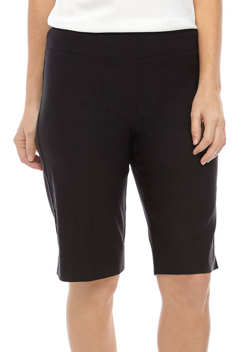 New Directions® Womens Millennium Pull On Shorts