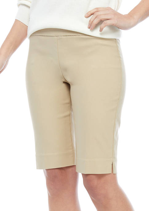 New Directions® Womens Pull On Millennium Shorts
