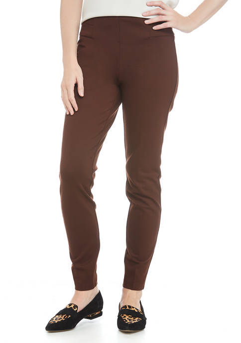 New Directions® Womens Ponte Leggings