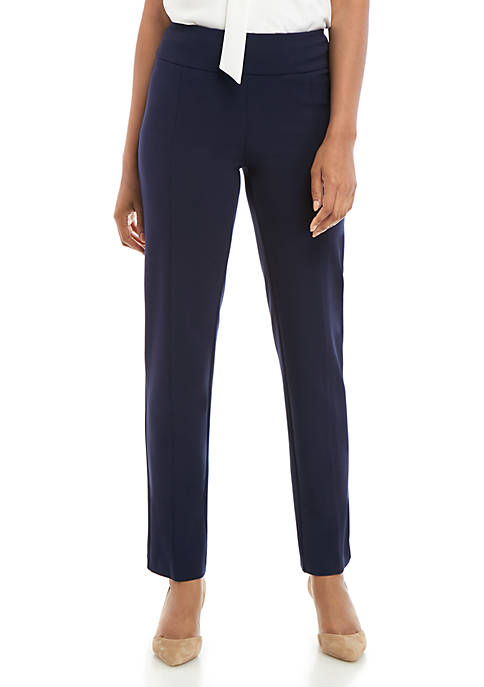 New Directions® Ponte Straight Pants