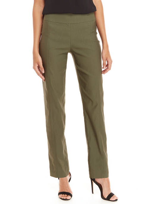 New Directions® Womens Solid Pull On Millennium Pants
