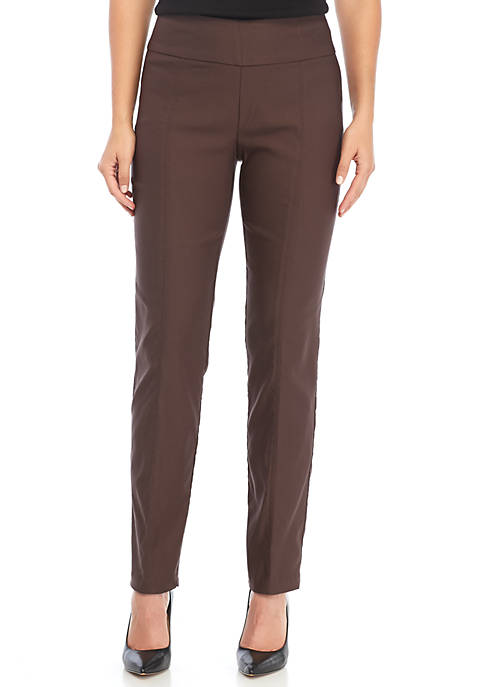 New Directions® Millennium Pull-On Slim Leg Pants