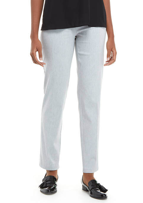 Womens Pull On Straight Leg Millennium Pants