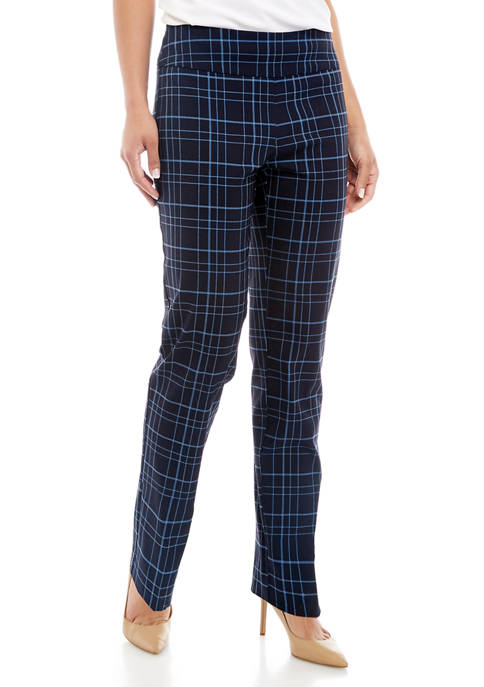 New Directions® Womens Print Pull On Millennium Pants