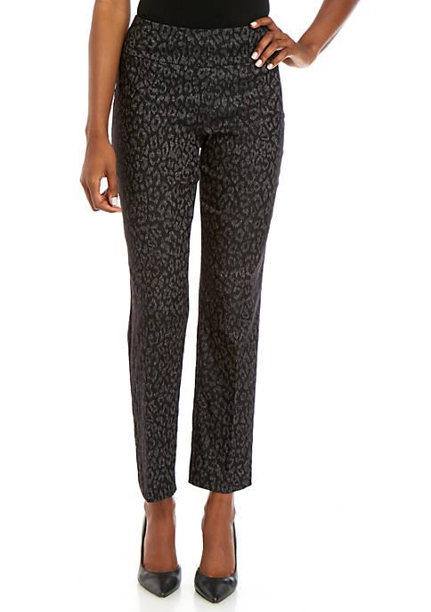 Millennium Leopard Print Pants