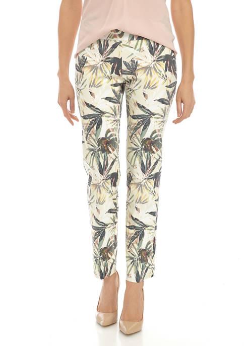New Directions® Womens Palm Life Millennium Short Pants