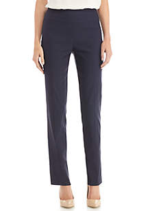 Petite Woven Stretch Pant - Average Length