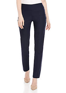New Directions® Petite Woven Stretch Pant - Average Length