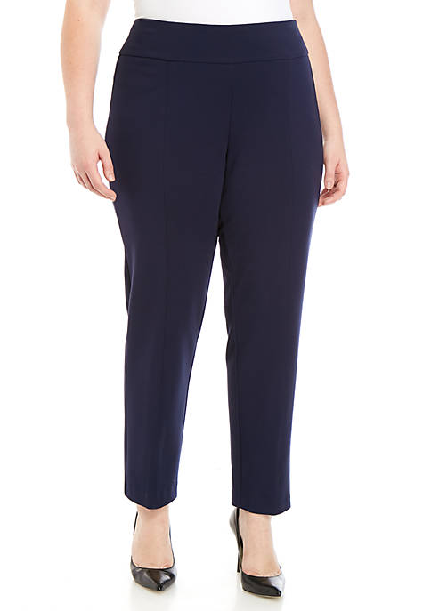 New Directions® Plus Size Compression Pull On Pants