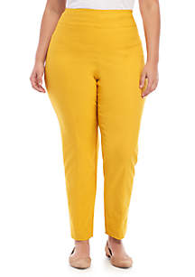 New Directions® Plus Size Pull On Pants