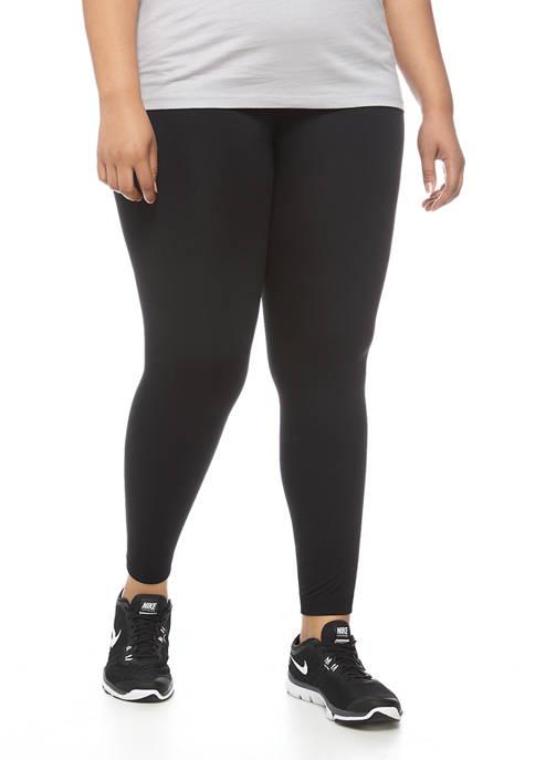 New Directions® Plus Size Fleece Leggings