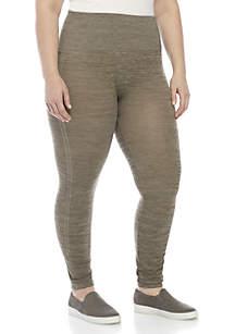 New Directions® Plus Size Space Dye Leggings