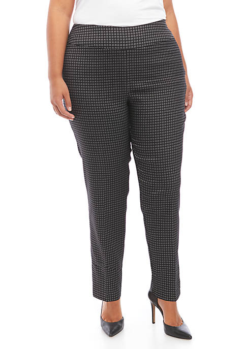 New Directions® Plus Size Pull On Millennium Pants