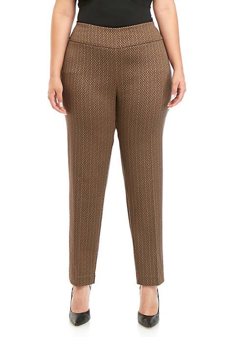 Plus Size Millennium Printed Pants