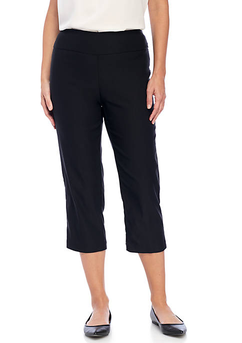 New Directions® Pull-On Stretch Comfort Capris Pants