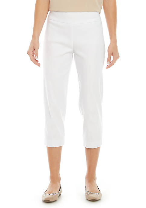 New Directions® Pull On Stretch Comfort Capris Pants