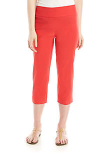 02bdc1fd387bb9 ... New Directions® Pull On Stretch Comfort Capris Pants