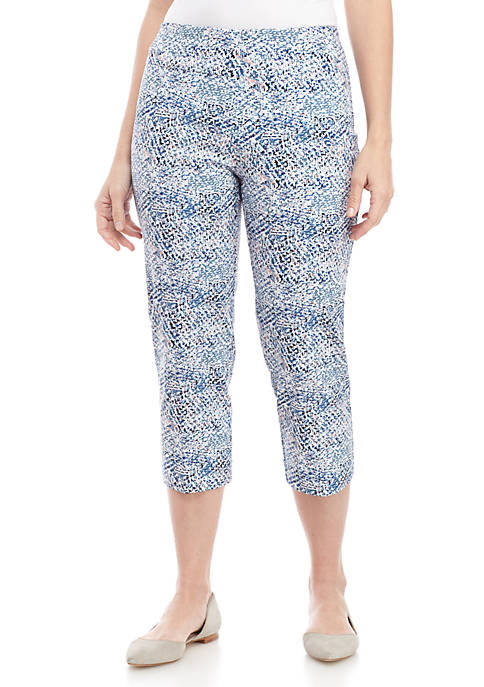 New Directions® Millennium Printed Pull On Pants