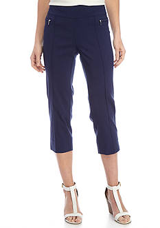 New Directions® Solid Millennium Pull On Crop Pant