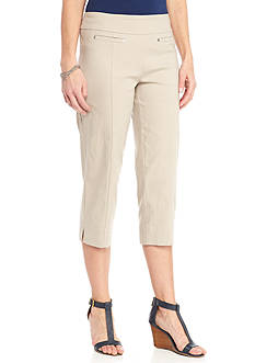 New Directions® Millennium Pull-On Slim Leg Crop Pant