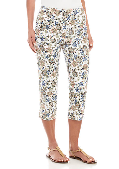 New Directions® Millenium Pull On Printed Pants