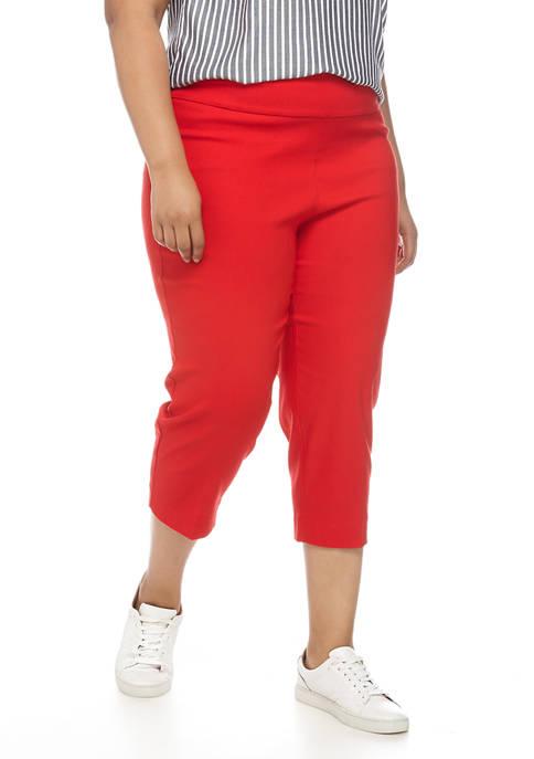 New Directions® Plus Size Millennium Cropped Pants