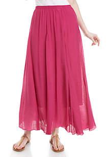 New Directions® Full Length Maxi Skirt