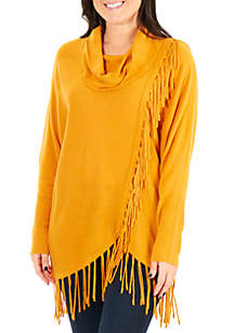 Fringe Sweater Pullover
