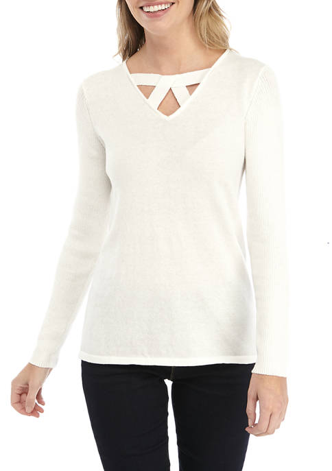 Petite Long Sleeve Must Have Sweater