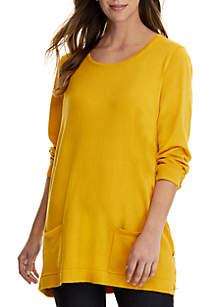 Solid Tunic with Pockets