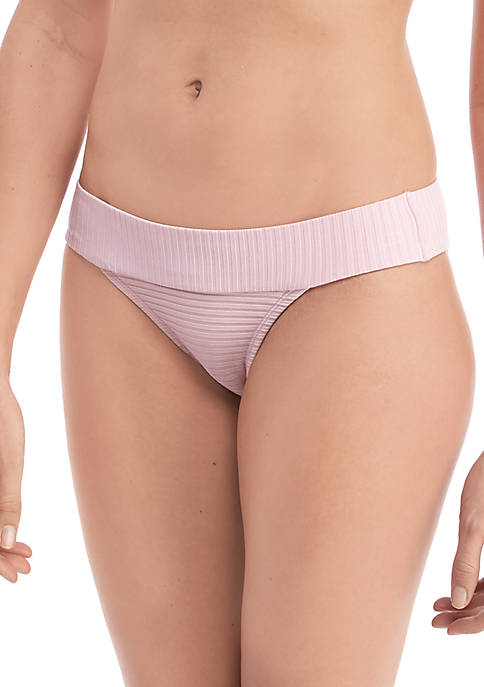 TRUE CRAFT Coastal Rib Cheeky Swim Hipster Bottom