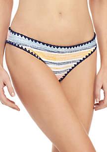 TRUE CRAFT Summer Stripe Cheeky Swim Hipster