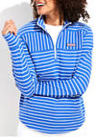 Relaxed Stripe Hooded Shep Shirt