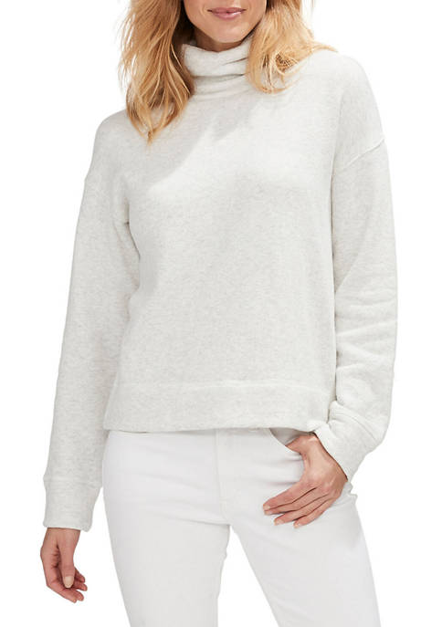 Funnel Neck Terry Top