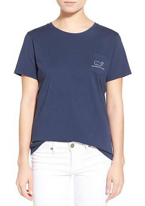 Short Sleeve Whale Pocket T-Shirt