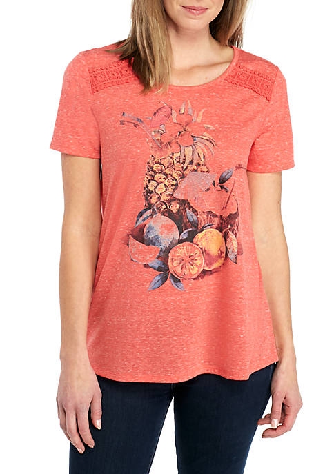 Kim Rogers® Short Sleeve Fruit N Drink Swing